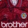 1990-92 Manchester City Away Shirt S