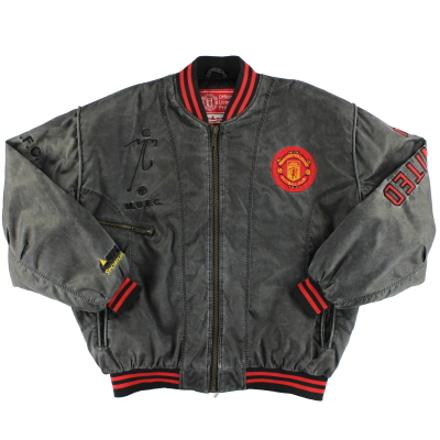 1990-92 Manchester United Campri Bomber Jacket *Mint* XL