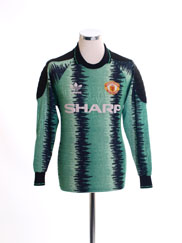 1990-92 Manchester United Goalkeeper Shirt S