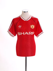 1990-92 Manchester United Home Shirt M