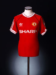 1990-92 Manchester United Home Shirt L