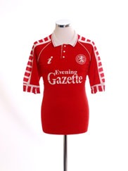 1990-92 Middlesbrough Home Shirt M