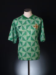1990-92 Northern Ireland Home Shirt L