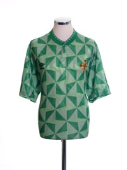 1990-92 Northern Ireland Home Shirt *As New* XL