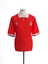 1990-92 Nottingham Forest Home Shirt XL