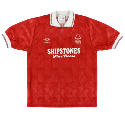 1990-92 Nottingham Forest Home Shirt L