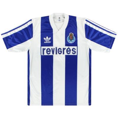 1990-92 Porto adidas Home Shirt M