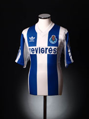 1990-92 Porto Home Shirt XL
