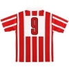 1990-92 PSV Eindhoven adidas Home Shirt #9 (Romario) L