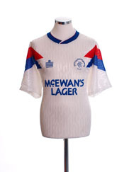 1990-92 Rangers Away Shirt L