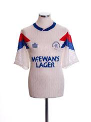 1990-92 Rangers Away Shirt M