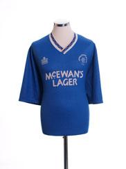 1990-92 Rangers Home Shirt Y