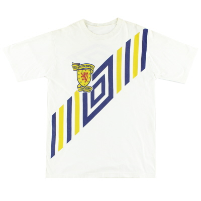 1990-92 Scotland Umbro T-Shirt L