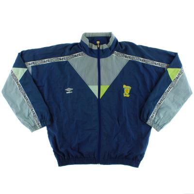 1990-92 Scotland Umbro Track Jacket L