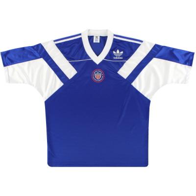 1990-92 USA adidas Away Shirt L