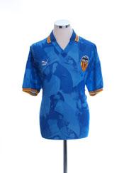 1990-92 Valencia Away Shirt XL