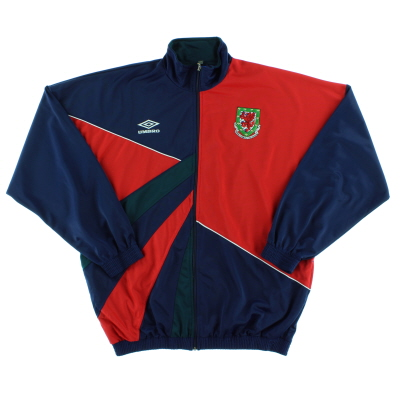 1990-92 Wales Umbro Track Jacket *As New* XL