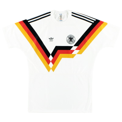 1990-92 West Germany adidas Home Shirt #10 *Mint* L
