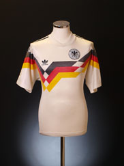 1990-92 West Germany Match Issue Home Shirt #5