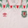 1990-93 Wales Away Shirt L