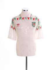 1990-93 Wales Away Shirt XL