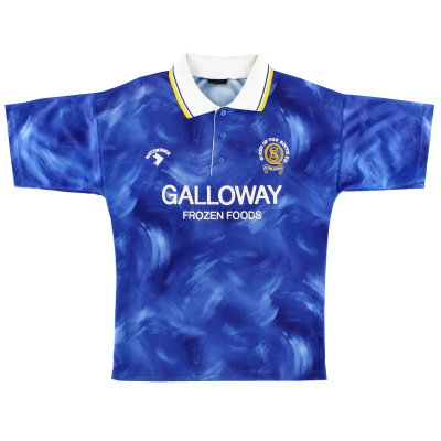 1990-94 Queen of the South Home Shirt S
