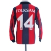 1990 Brommapojkarna Match Issue Home Shirt #14 L/S S