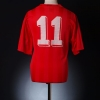 1990 Malta Match Issue Home Shirt #11 L