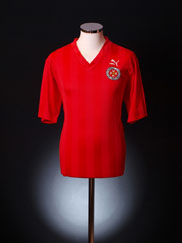 1990 Malta Match Issue Home Shirt #15 L