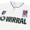 1990 Tranmere Rovers 'Wembley 1990' Home Shirt M
