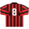 1991-92 AC Milan adidas Home Shirt L/S #8 (Rijkaard) XL