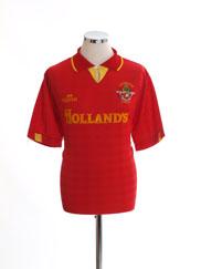1991-92 Accrington Stanley Home Shirt L