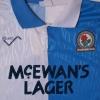 1991-92 Blackburn Home Shirt L