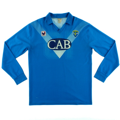 1991-92 Brescia Home Shirt #10 L/S XL