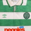 1991-92 Celtic Home Shirt XL