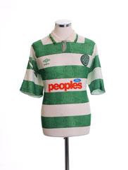 1991-92 Celtic Home Shirt XXL