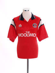1991-92 Charlton Home Shirt L