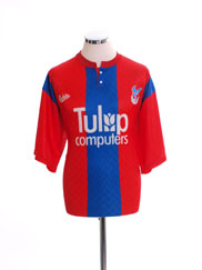 1991-92 Crystal Palace Home Shirt L