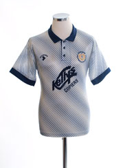 1991-92 Dundee FC Away Shirt *Mint* S