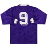 1991-92 Fiorentina Lotto Match Issue Home Shirt #9 L/S XL
