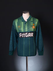 1991-92 Inter Milan Goalkeeper Shirt L