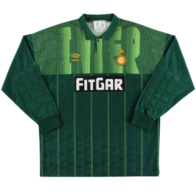 1991-92 Inter Milan Goalkeeper Shirt XL