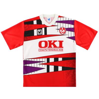 1991-92 Kaiserslautern Home Shirt XL
