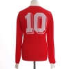 1991-92 Kaiserslautern Home Shirt #10 L/S L