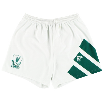 1991-92 Liverpool adidas Away Shorts S