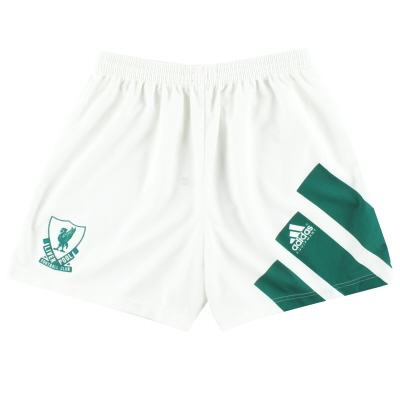 1991-92 Liverpool adidas Away Shorts *Mint* L
