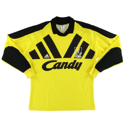 1991-92 Liverpool adidas Goalkeeper Shirt M