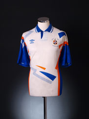 1991-92 Luton Town Home Shirt *Mint* XL