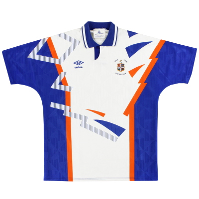 1991-92 Luton Town Home Shirt XL