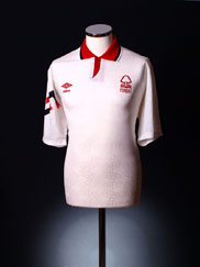 1991-92 Nottingham Forest Away Shirt XL
